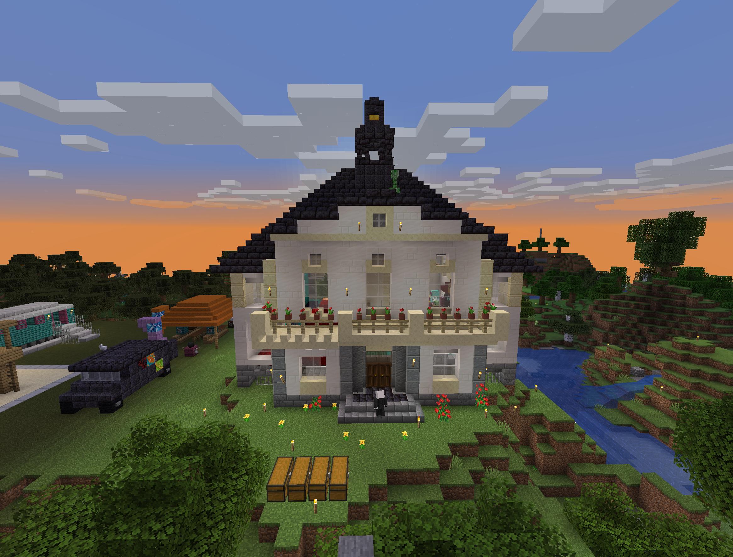 Minecraft Rathaus